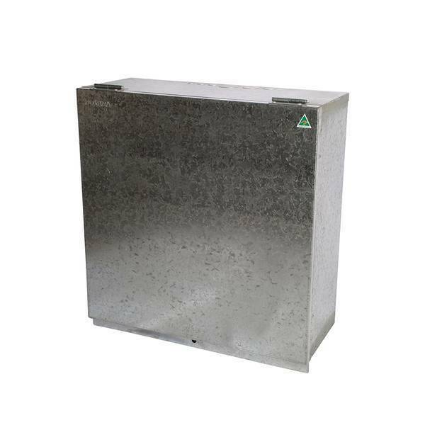 Brick Cut-In, Meter Box With Insulated Panel & 10 To 12 Pole DIN Enclosure (only) Image 2