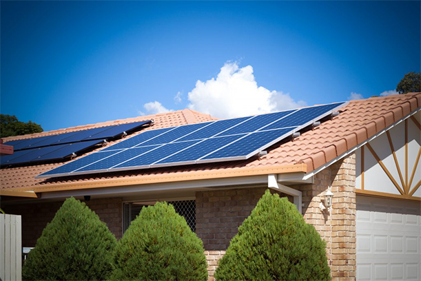 solar installation exmaple